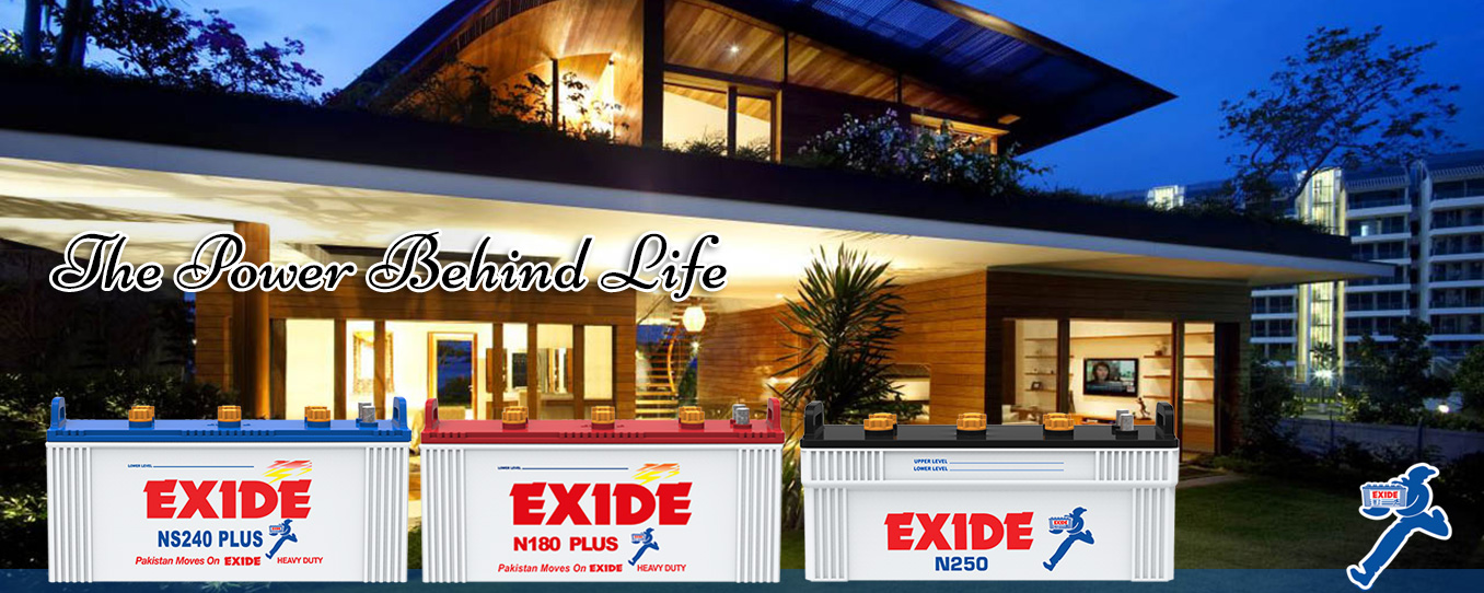 Exide Locomotives Banner