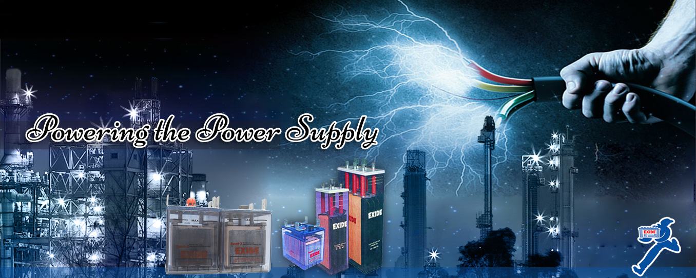 Exide Industrial Batteries Banner