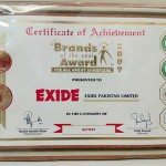 Certificate Brand of the year 2009